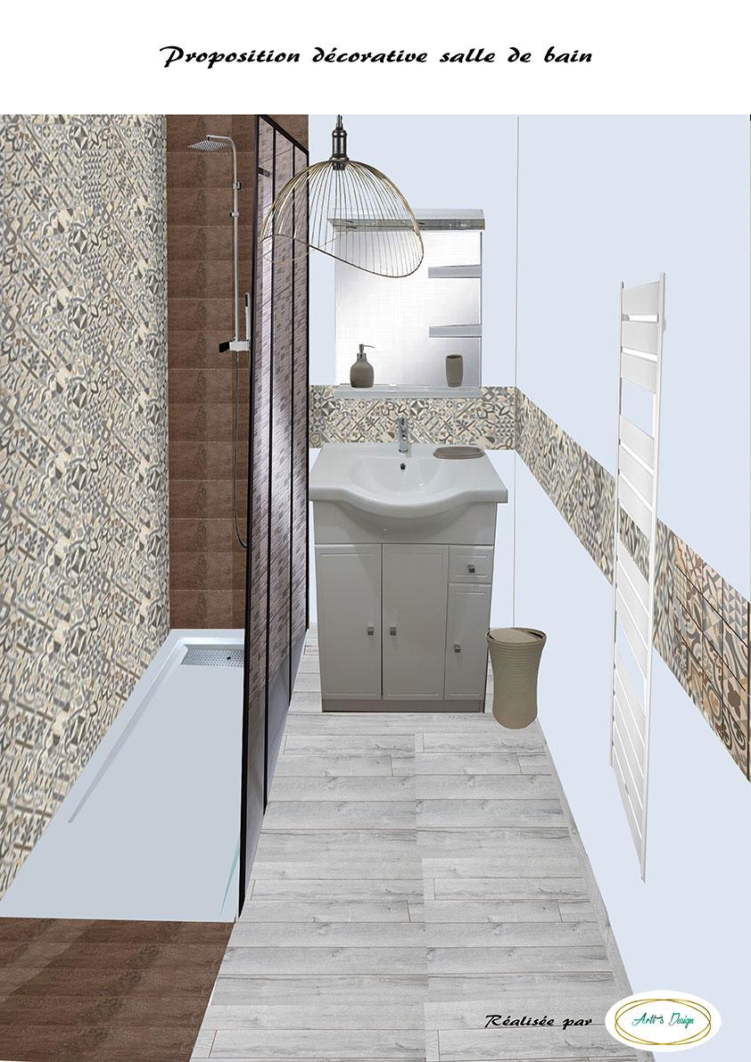 2 proposition d corative salle de bain appartement en for Agence immobiliere en vente