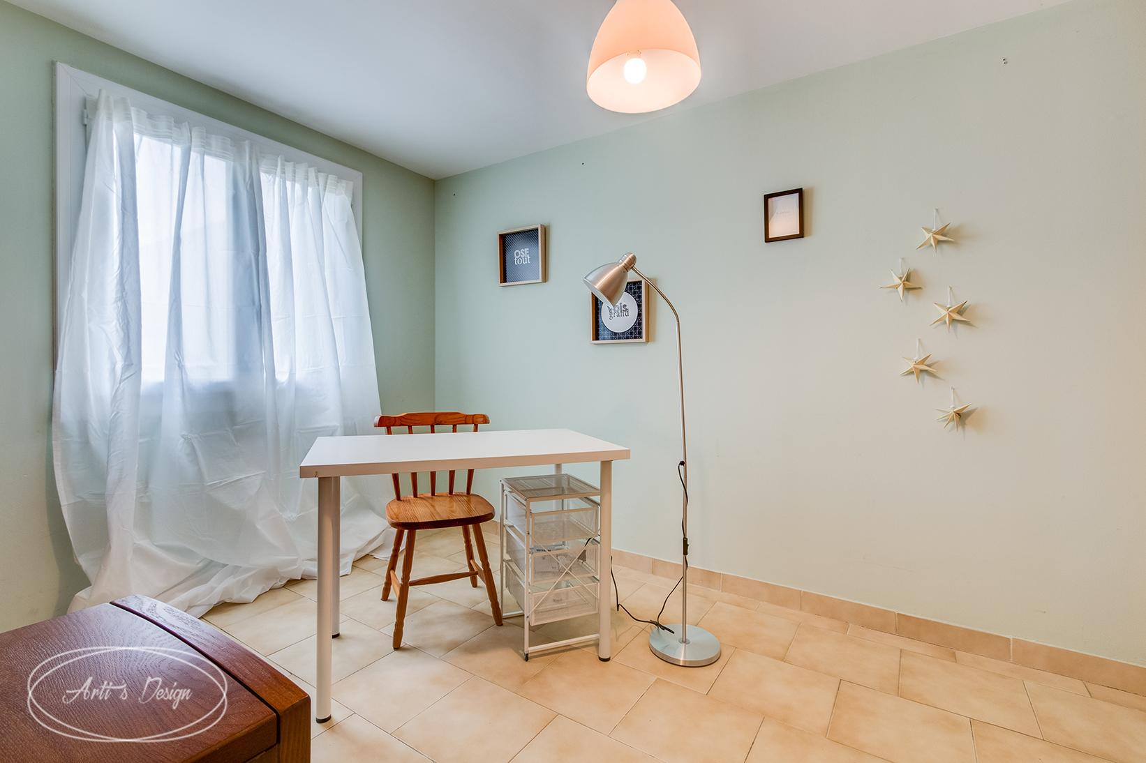 16 chambre rez de chauss e apr s home staging maison 58m - Chambre des metiers des bouches du rhone ...