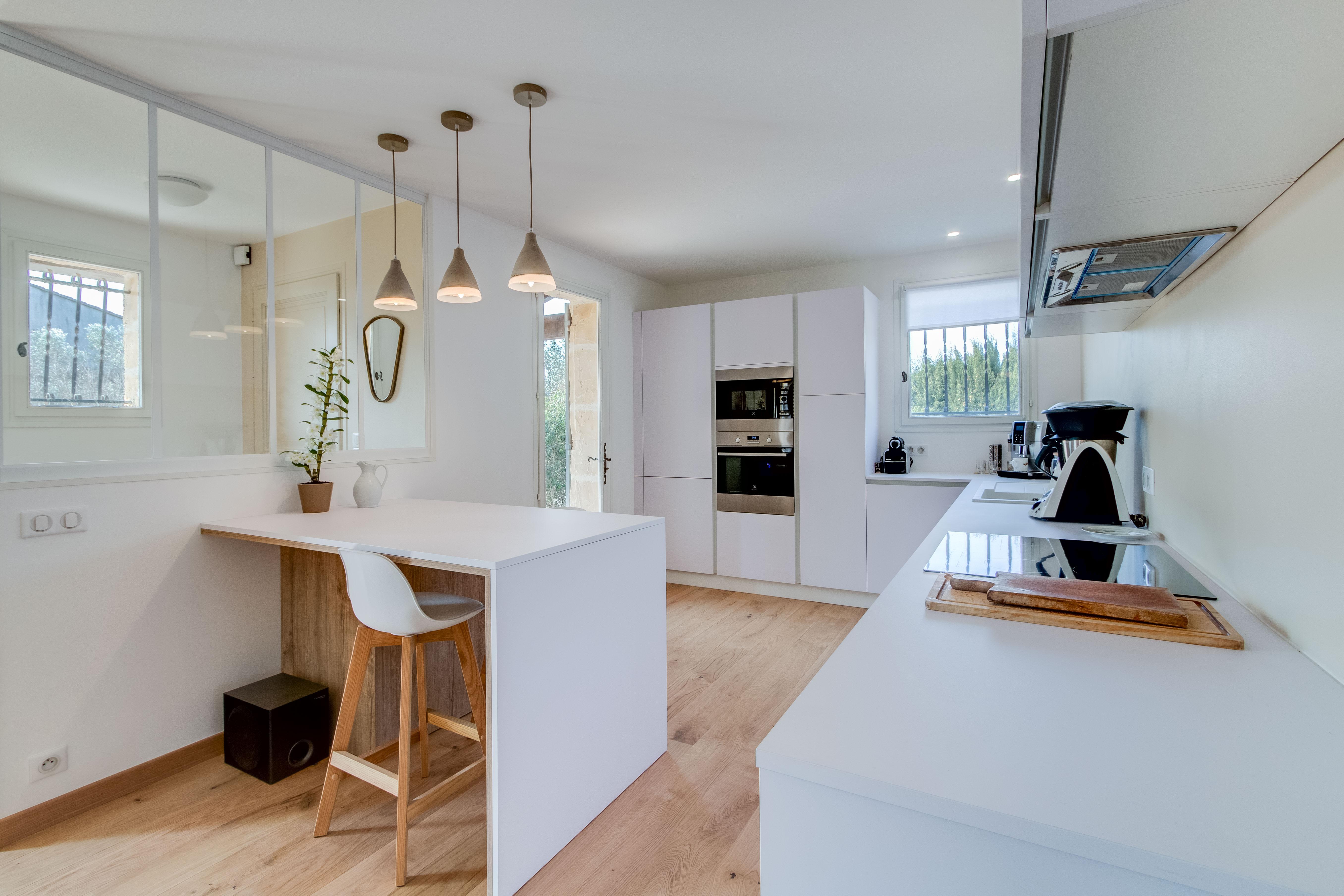 r novation agencement am nagement d coration espaces entr e cuisine s jour salon arti 39 s design. Black Bedroom Furniture Sets. Home Design Ideas
