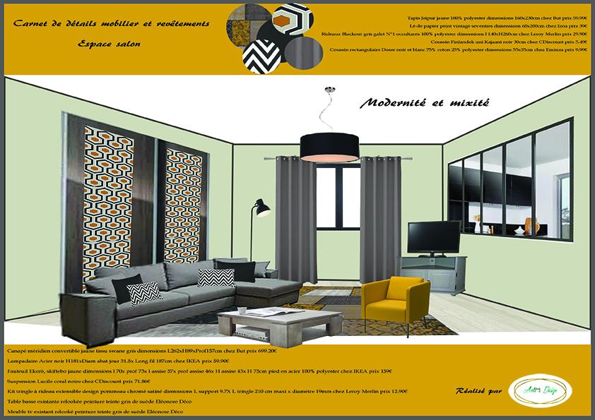 2 carnet de d tails mobilier salon agencement am nagement d coration maison la gacilly 56 for Mobilier decoration maison