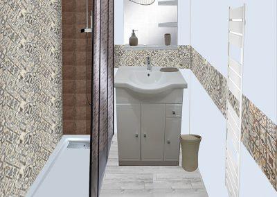Réalisation de visuels d'ambiance salle de bain