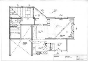 plan menuis am nagement rdc maison 110m rh ne alpes 69 artis d coration d. Black Bedroom Furniture Sets. Home Design Ideas