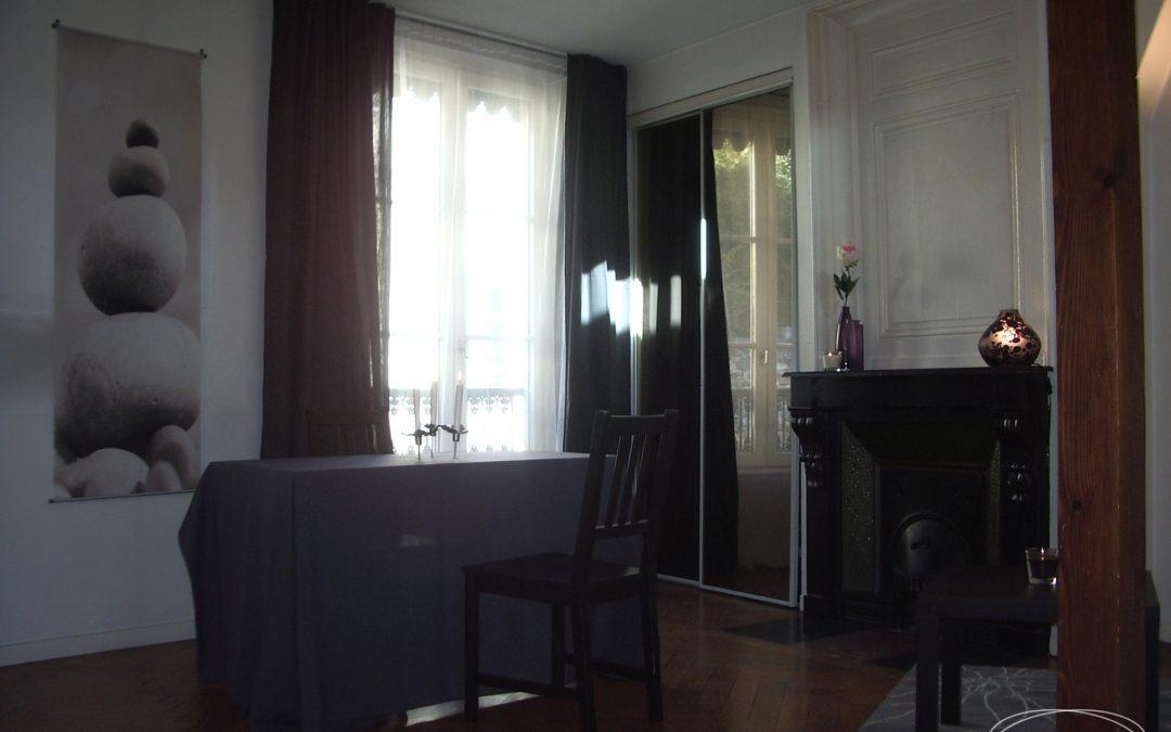 Home Staging réalisé dans un appartement T2 vide