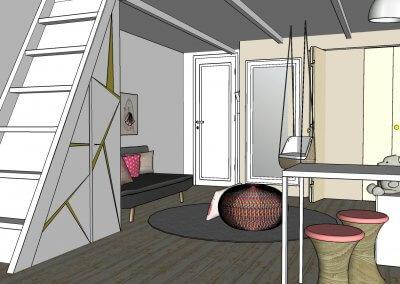 Propositions d'aménagement & de décoration pour deux chambres d'enfants