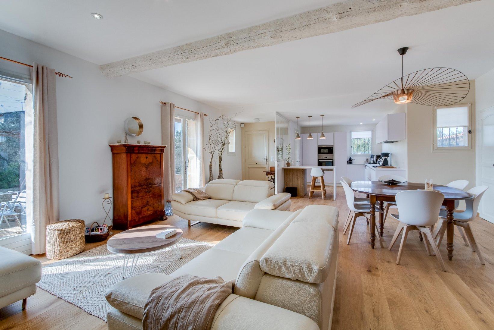 R novation agencement am nagement d coration espaces - Amenagement cuisine salon ...