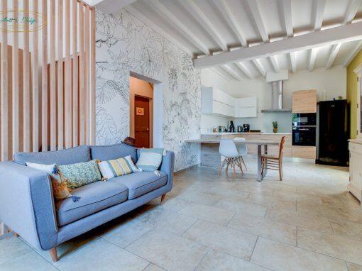 Maison T5 Maussane les Alpilles Bouches du Rhône (13) Rénovation conception agencement aménagement décoration d'intérieur